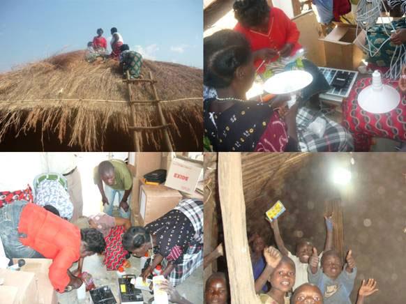 Women solar engineers in Malawi