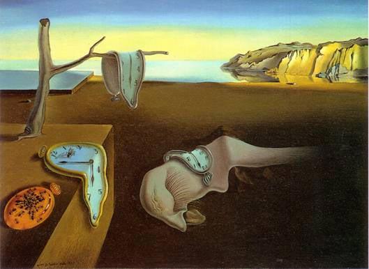 Salvador Dal Paranoia And Dissolution Of Time