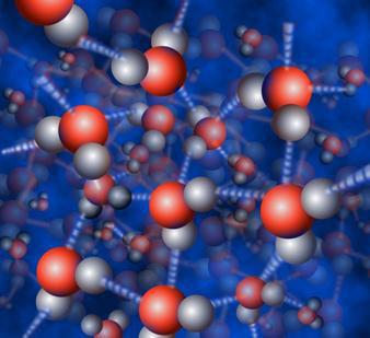 water hydrogen bonded Nicolle Rager Fuller