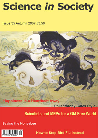 Science in Society 35 cover
